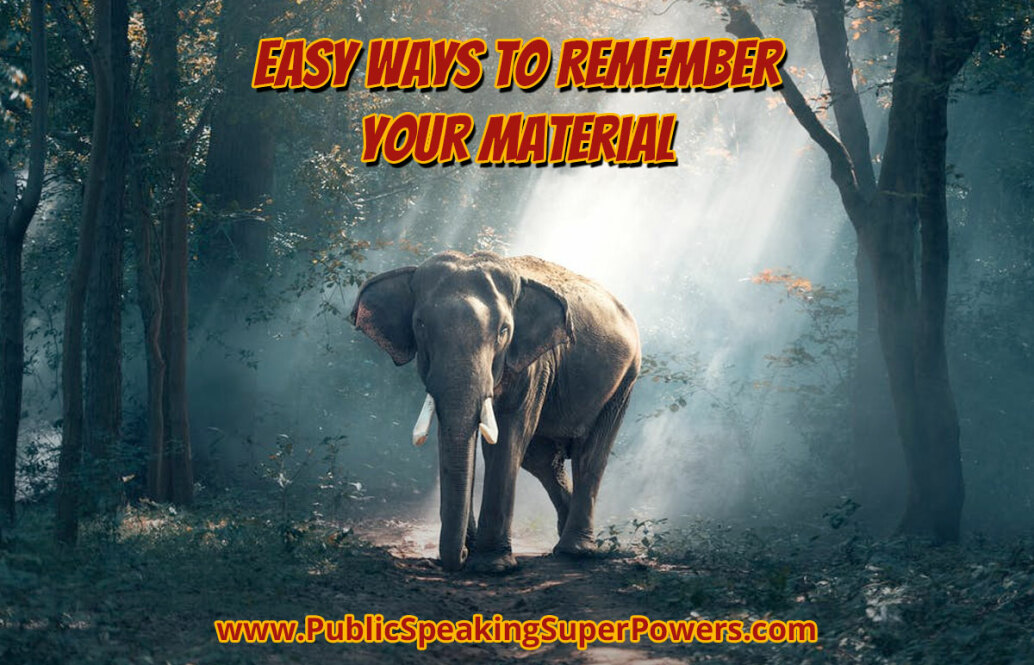 Easy Ways to Remember Your Material