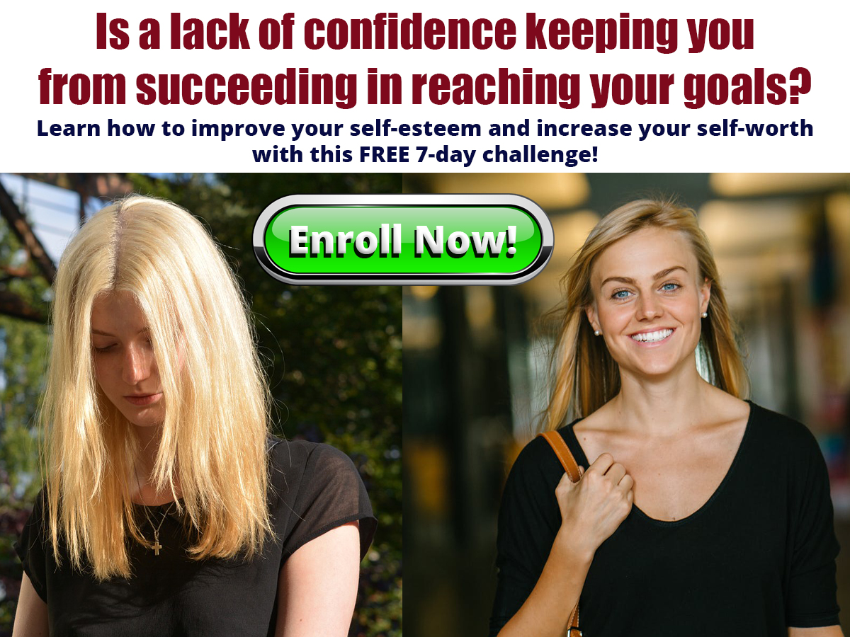 Enroll in the free 7-Day Confidence Challenge