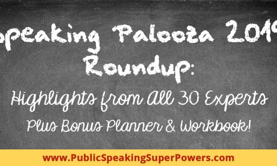 Speaking Palooza 2019 Roundup