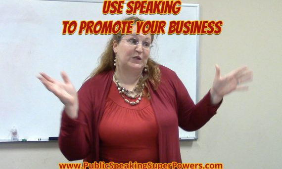Use speaking to promote your business