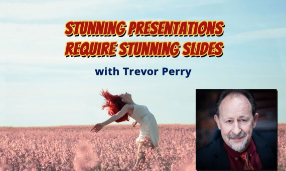 "Don't let your presentation suffer from ""Death by Power Point."" Follow Trevor Perry's simple guidelines to creating stunning slides."