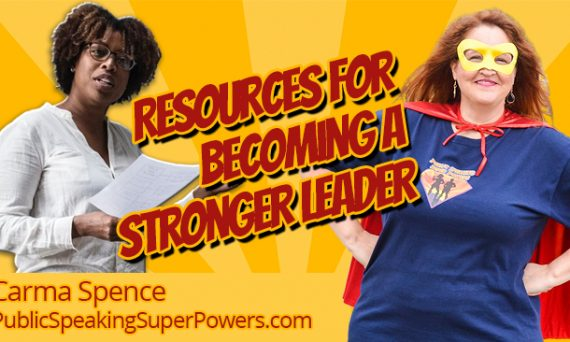Resources for Becoming a Stronger Leader