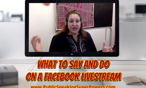What to Say and Do on a Facebook Livestream