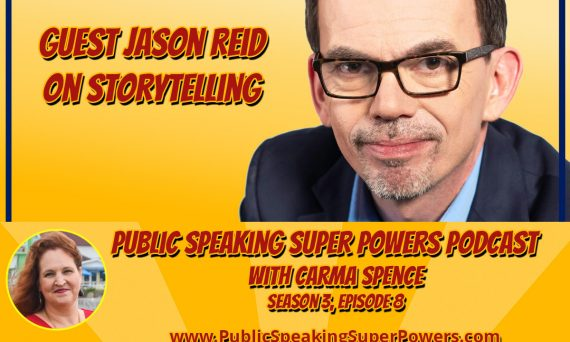 Podcast, Jason Reid on Storytelling